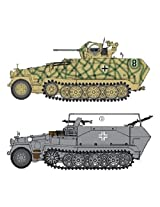 Dragon Models 1/35 Sd.Kfz. 251/17 Ausf.C/Command Version Vehicle Model Building Kit