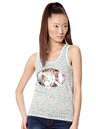 Custo Camiseta (Aguamarina)