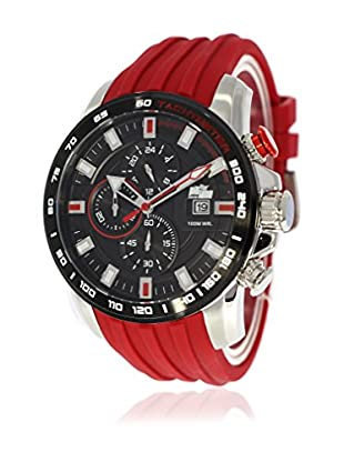 Pit Lane Uhr mit Miyota Uhrwerk Pl-1007-5 rot 46 mm