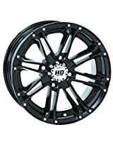 4/156 STI HD3 Alloy Wheel 14x7 4.0 + 3.0 Gloss Black POLARIS