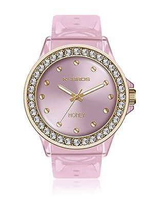 K&Bros  Reloj 9575 (Rosa)