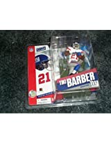 McFarlane Toys NFL Sports Picks Series 11 Action Figure Tiki Barber (New York Giants) White Jersey Variant by Mcfarlane