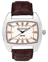 Laurels Aspire 2 Analog Silver Dial Men's Watch ( Lo-Asp-201)