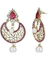 Ethnic Indian Artisan Jewelry Set Pretty Dangler EarringsTIEA0011RA
