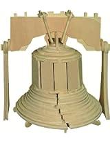Liberty Bell - 3D Jigsaw Woodcraft Kit Wooden Puzzle