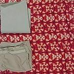 Multi Block print Cotton Dress Material With Dupatta