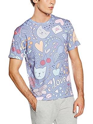 Mr. Gugu & Miss Go T-Shirt Unisex Romantic Cats
