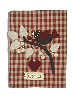 My Doll Cuaderno Aida 16x21 cm rojo