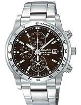 Seiko Chronograph Black Dial Men's Watch - SNDD05P1