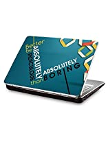 Clublaptop CLS 95 Absolutely Ridiculous Laptop Skin For 15.6