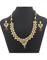 Latest Design Artificial Bridal Necklace Jewelry Set