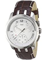Swatch Chronograph Silver Dial Men's Watch - YRS403