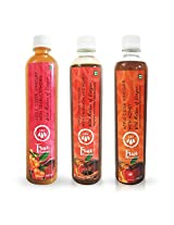True Elements Apple Cider Vinegar Nutrition Combo - Omega 3, Potassium (ACV with Seabuckthorn, ACV with Honey, ACV with Cinnamon and Honey)