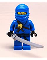 DEAL OF THE DAY!!! DO NOT MISS OUT!NEW Lego JAY NINJAGO Minifig w/ Sword BRAND NEW blue ninja 2263 2506 2259 2257