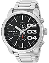 Diesel End of Season Analog Black Dial Men's Watch - DZ4209
