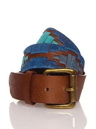 Pepe Jeans London Cinturón Madison (Azul)