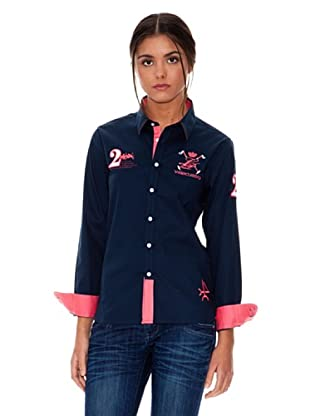 Valecuatro Camisa Logo (Azul marino)