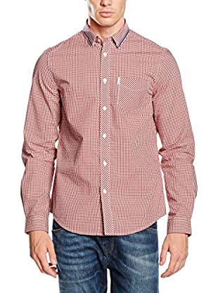 Ben Sherman Hemd Ls Tipped Collar Gingham