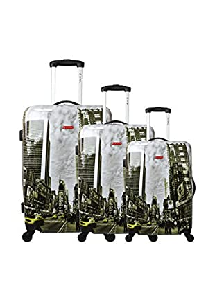 ZIFEL Set 3 Trolley Rigido  76 cm