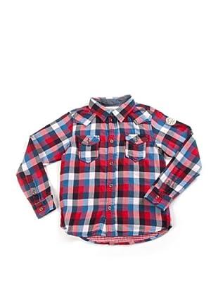 Diesel Kid Hemd (Rot/Blau/Weiß)
