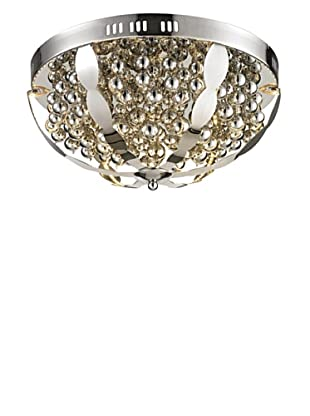 Artistic Lighting Light Spheres Collection LED Flush Mount, Polished Chrome