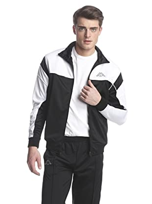 Kappa Men's DDU Jacket (Black/White)