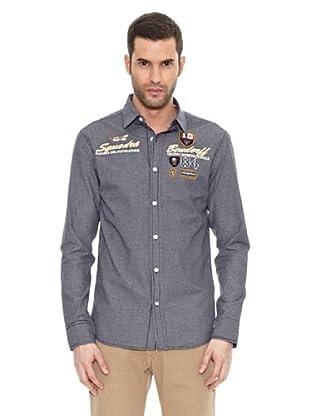 Bendorff Camisa Manga Larga (Negro Mezcla)