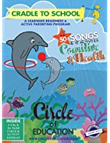 Circle of Education Cognitive and Health Digipak Set. 56 Songs on 2 CD's + Lyrics + 10 Activities. Songs focused on Cognitive & Health and Routines Skills for Learning Readiness and Active Parenting of Children 2-6