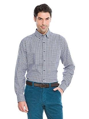 Cortefiel Camisa Vichy (Azul)