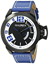 Haurex Italy Men's 6N509UBB Storm Analog Display Quartz Blue Watch