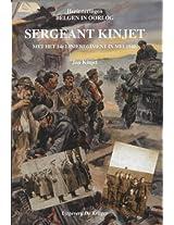 Sergeant Kinjet: Met Het 14e Linieregiment in Mei 1940 (Herinneringen Belgen in Oorlog)