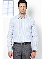 Checks White Formal Shirt Copperline