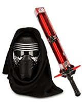 Star Wars: The Force Awakens Kylo Ren Voice Changing Mask And Exclusive Electronic Lightsaber
