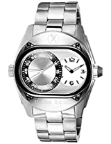 Marc Ecko Fashion Analog Silver Dial Men's Watch - E16513G2