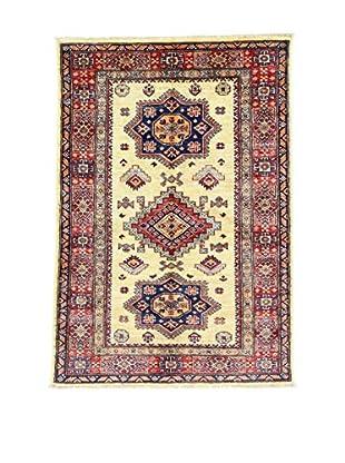 Eden Teppich   Kazak Super 101X147 mehrfarbig