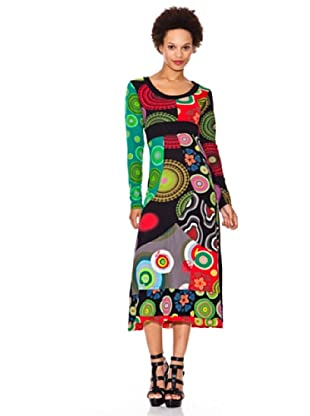 Desigual Vestido Silvinna (fresa)