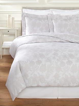 Belle Époque Jacquard Rose Mini Duvet Set (Grey)