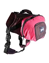 Imported Big Dog Foldable Backpack Waterproof Portable Travel Outdoor Bag Pink XL