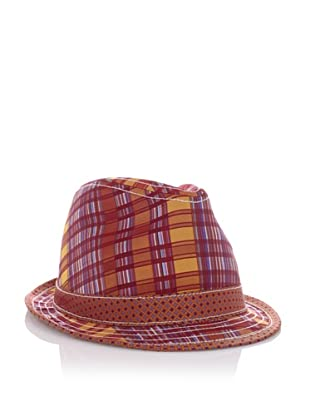 Robert Graham Men's Edwidge Fedora (Red)