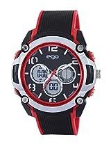 Ego by Maxima Analog-Digital Black Dial Men's Watch - E-37110PPAN