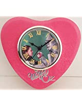 The Wizard Of Oz Tin Man Heart Shaped Tin Box With Clock In Lid by Vandor #71077
