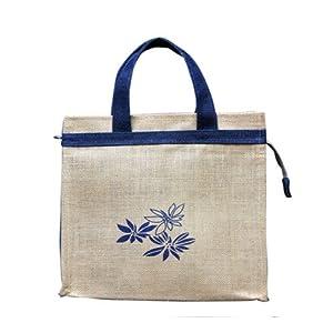 Sangeetha Jute Flower Tifin Bag