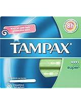 Tampax Super Tampons - 20