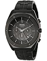 Pulsar Men's PT3521 On The Go Analog Display Japanese Quartz Black Watch