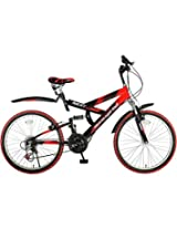 Red & White Colored Speed Mountain Bike Next - 26 Version by Hero Cycles