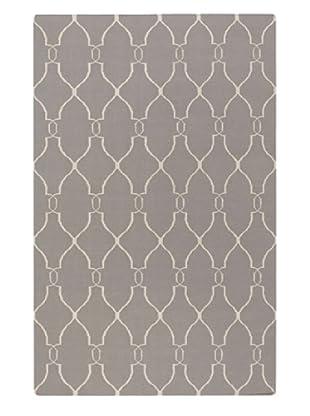 Surya Fallon Hand Woven Flat weave Rug (Gray)