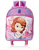 Disney Girl's Sofia The First Rolling Backpack