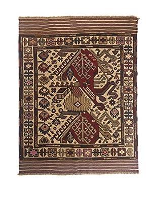 Rugsense Teppich Berjiaste rot/beige/mehrfarbig 190 x 130 cm