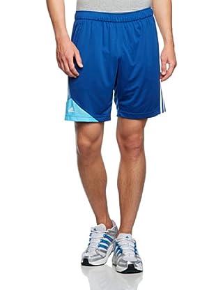 Adidas Pantalón corto F50 (Azul Oscuro / Azul Claro / Blanco)
