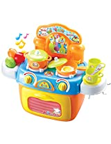 Berry Toys My First Portable Kitchen Play Set with Light and Sound